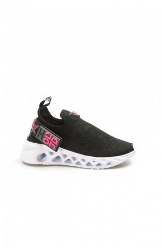 Fast Step Black Textile Sneakers 629za266415 629ZA266-415-16782436