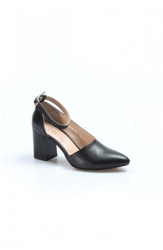Fast Step High Heels Real Leather Thick Heels  064Za788 064ZA788-16777229