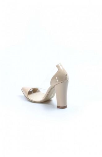 Fast Step Tan Patent Leather High Heels 629za4042122 629ZA404-2122-16780630