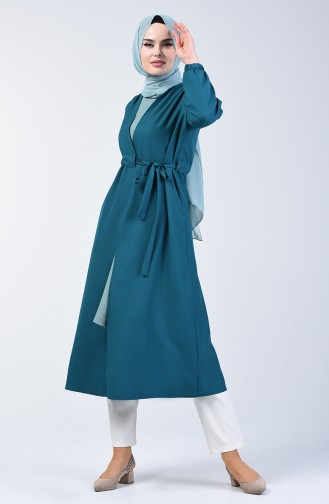 Side Tied Coat 2221-10 Oil 2221-10