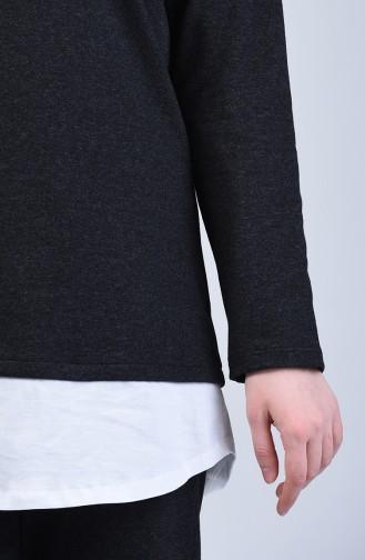 İki İplik Tunik Pantolon İkili Takım 2002-05 Füme 2002-05