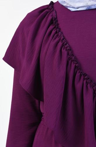 Purple İslamitische Jurk 0046-01