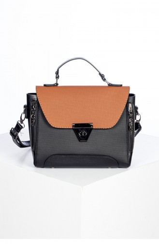 Women s Cross Shoulder Bag 3021K-01 Black 3021K-01