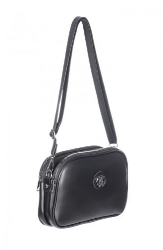 Lady Cross Shoulder Bag 3023-01 Black 3023-01