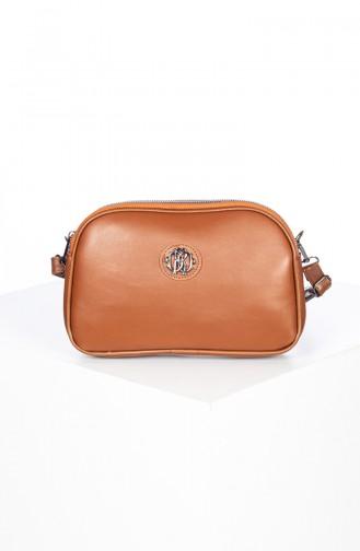 Tobacco Brown Shoulder Bag 3023-04