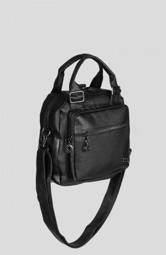 Black Shoulder Bag 7000-01