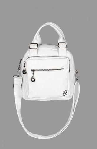 White Shoulder Bag 7000-14