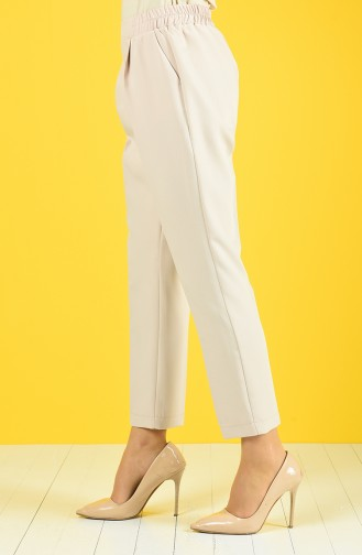 Straight Classic Pants 4087-02 Stone 4087-02