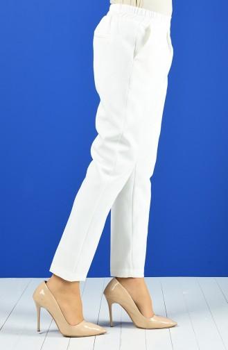 Pantalon Classique 4087-03 Écru 4087-03