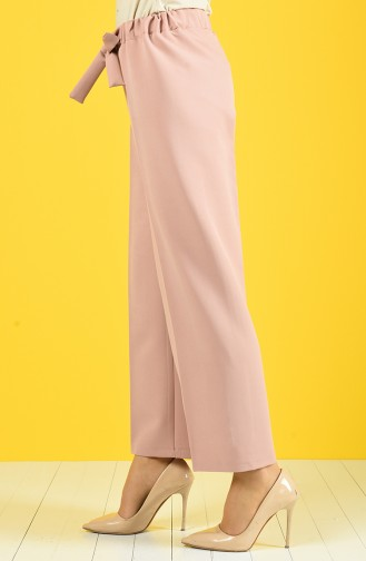 Belted Baggy Pants 4089-02 Powder 4089-02