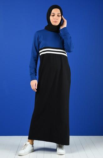 Saxon blue Dress 0827-01