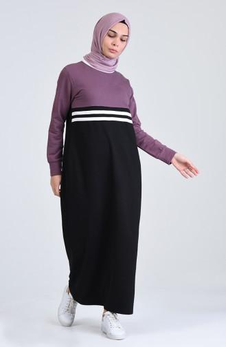 Dark Lilac Dress 0827-04