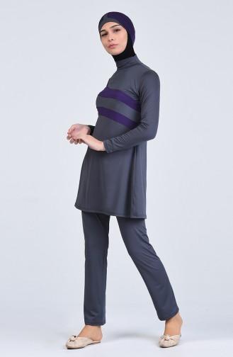 Maillot de Bain Hijab 1852-01 Anthracite 1852-01