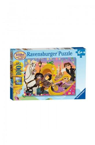 Ravensburger Çocuk 100P Puzzle RAV107506 Wd Rapunzel