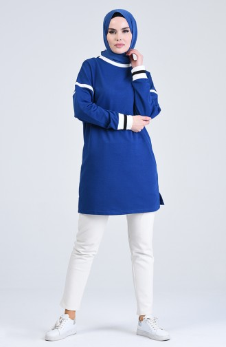 Topped Sport Tunic 0801-02 Saxe 0801-02