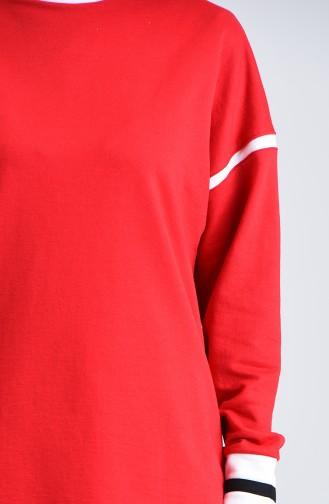 تونيك أحمر 0801-04