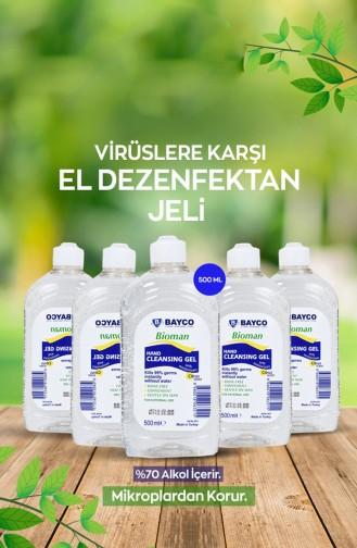 Bioman 70 IPA Glycerine Hand Cleaning Gel 9247-01 500 ml 9247-01