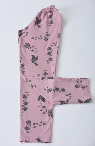 Bas de Pyjama à Motifs 2713-01 Poudre 2713-01