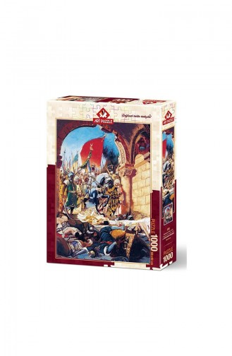 Art Puzzle 1000 Pieces Conquest of Istanbul 1453 Art4385 4385