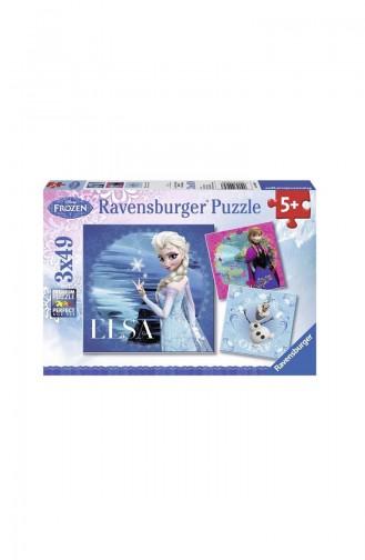 RavensBurger Çocuk 3x49 Puzzle Frozen2 RAV050116