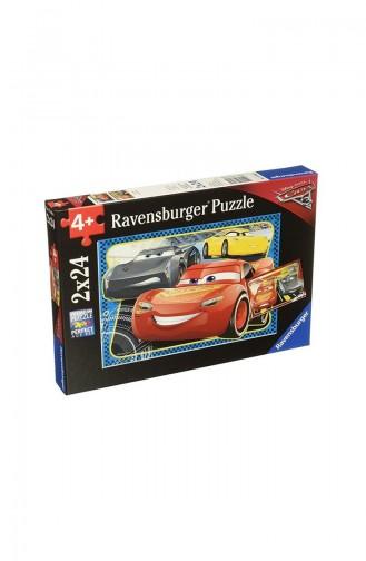 RavensBurger Çocuk 2x24 Puzzle Wd Cars RAV078080