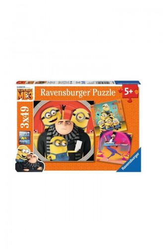 RavensBurger Çocuk 3X49 Puzzle Minions RAV080168