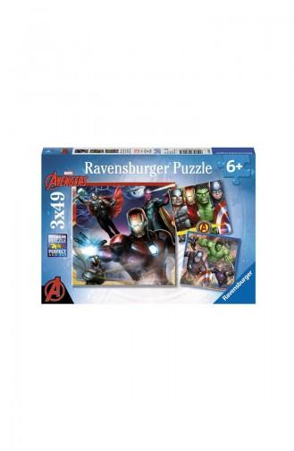 RavensBurger Çocuk 3X49 Puzzle Avengers RAV080175 080175
