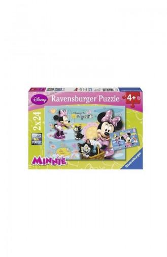 RavensBurger Çocuk 2x24 Puzzle Minnie Mouse RAV088621 088621