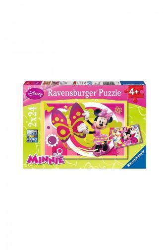 RavensBurger Çocuk 2x24 Puzzle Mıinnie RAV090471 090471