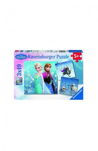 Ravensburger Child 3x49 Puzzle Frozen Winter Mac Rav092642 092642