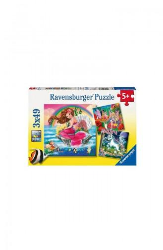 RavensBurger Kind 3x49 Puzzle Imaginäre Freunde RAV093670 093670