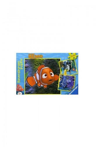 RavensBurger Kind 3X49 Puzzle Nemo Aquarium RAV093717 093717
