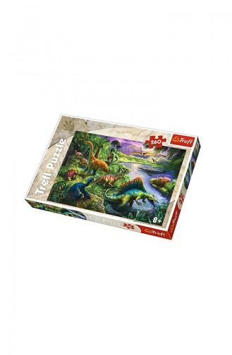 Trefl Puzzle 260 Parça Dinosaurs TRE13214