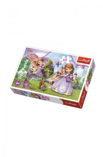 Trefl Puzzle 60 Parça Disney Sofia The First TRE17313