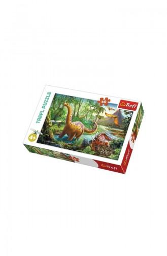 Trefl Puzzle 60 Parça Dinosour Migration TRE17319