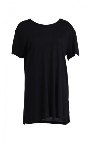 Short Sleeve Tshirt 1001-01 Black 1001-01