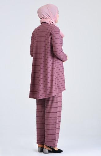 Beige-Rose Anzüge 5925A-06