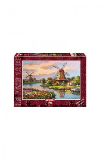 Art Puzzle 1000 Parça Yel Değirmenleri ART4354