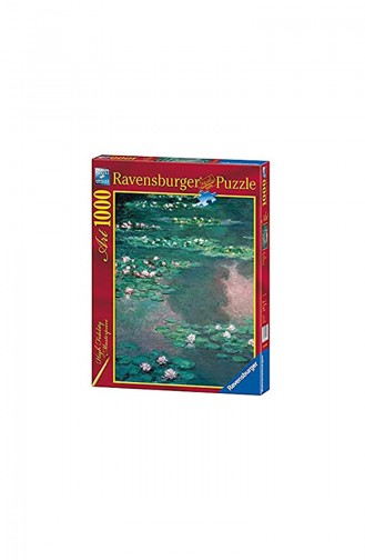 Ravensburger 1000 Piece Puzzle Water Lily Lake Rav192298 192298