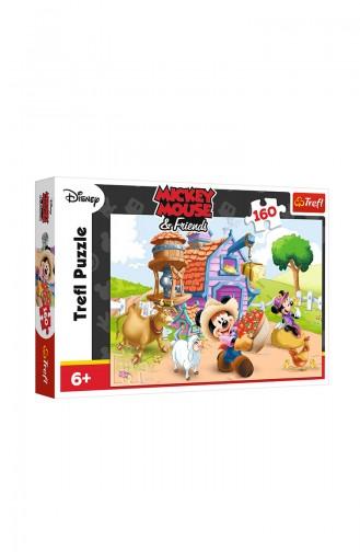 Trefl Puzzle 160 Parça Dısney Mıckey TRE15337
