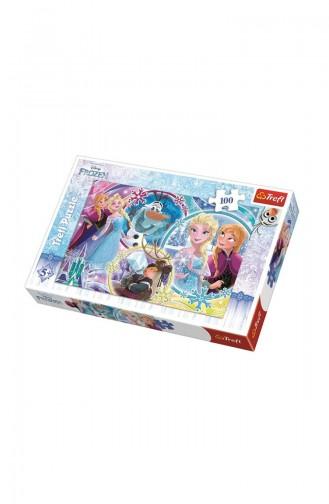 Trefl 100 Parça Puzzle Disney Frozen The Land Of TRE16340