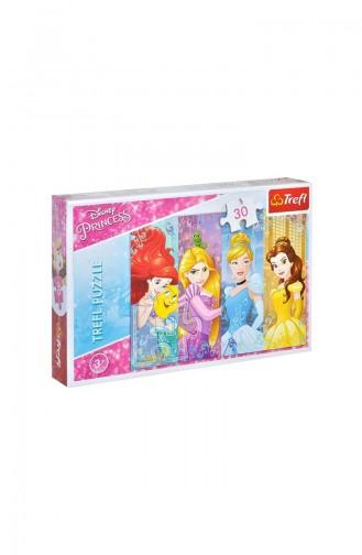 Trefl Puzzle Dısney Prıncess 30 Faırytale Prın TRE18205