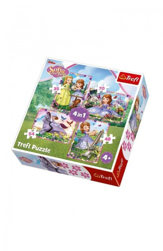 Trefl Puzzle 4IN1 Sofias World Disney TRE34314