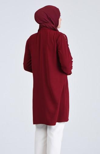 تونيك أحمر كلاريت 0223-04