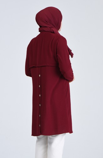 Claret red Tuniek 0224-04
