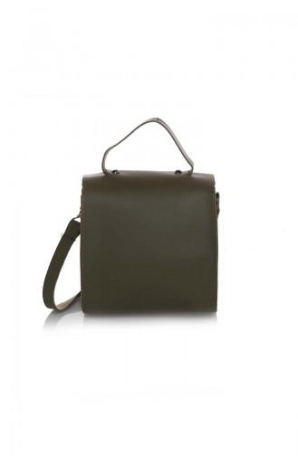 Stilgo Ladies Shoulder Bag Mst15z-12 Dark Mink 15Z-12
