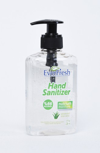 Antibakterielle Händedesinfektionsgel mit Pumpe 236ml EVER