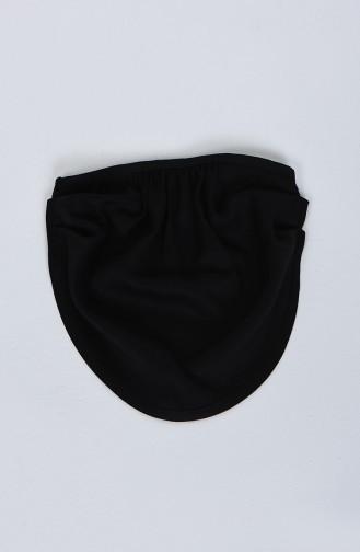 Sefamerve Masque Bandana Facial  8801 -01 Noir 8801 -01