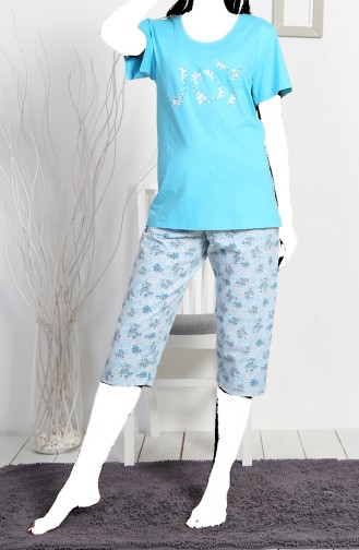 Light Blue Pyjama 811395-B