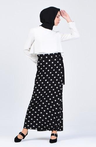 تنورة أسود 0766-01